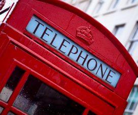 cabina de telefonos inglesa